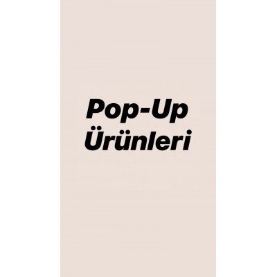 POP-UP: 150 TL.
